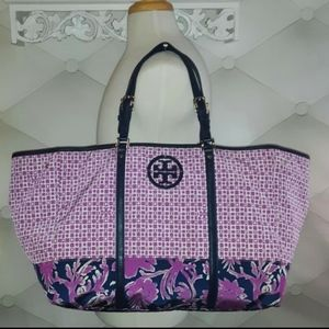 New, Giant Tory Burch Floral Tote!